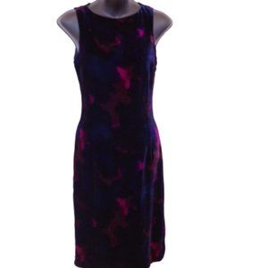Armani Collezioni Velour Column Dress- Sz. 38/2
